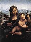Leonardo da Vinci Madonna with the Yarnwinder painting