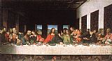 Leonardo da Vinci The Last Supper painting
