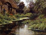 Louis Aston Knight Summer Afternoon painting