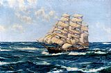 Montague Dawson Broad Horizons painting