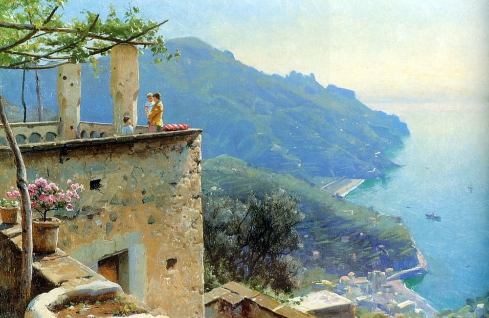Peder Mork Monsted The Ravello Coastline