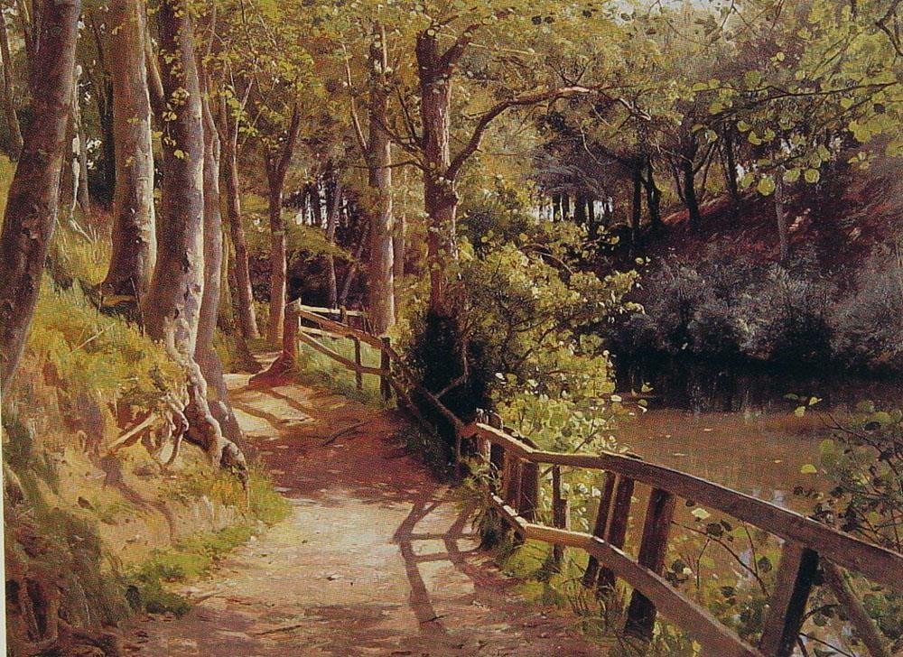 Peder Mork Monsted The forest path