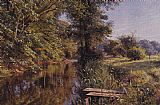 Peder Mork Monsted Calm Waters painting