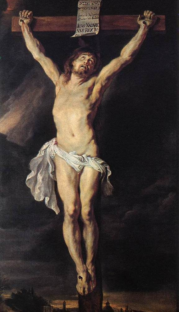 Peter Paul Rubens The Crucified Christ