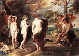 Peter Paul Rubens The Judgment of Paris painting
