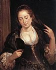 Peter Paul Rubens Woman with a Mirror painting