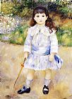 Pierre Auguste Renoir Child with a Whip painting