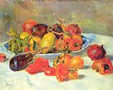 Pierre Auguste Renoir Fruits from the Midi painting