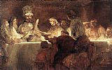 Rembrandt The Conspiration of the Bataves painting