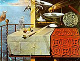 Salvador Dali Living Still Life painting