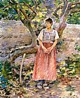 Theodore Robinson Potato Harvest painting