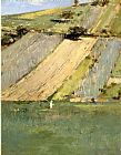 Theodore Robinson Valley of the Seine Giverny painting