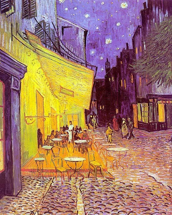 Vincent van Gogh Cafe Terrace at Night