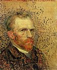 Vincent van Gogh Self Portrait painting