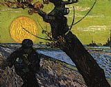 Vincent van Gogh The Sower painting