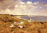 William Merritt Chase Idle Hours painting