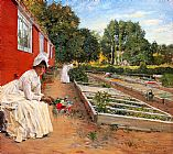 William Merritt Chase The Nursery painting