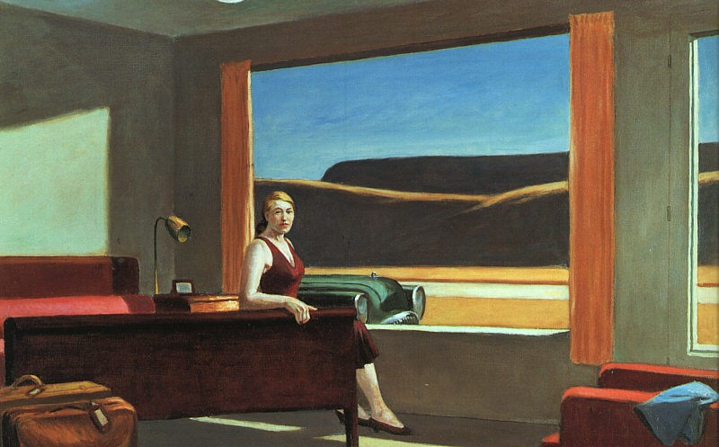 Edward Hopper Western Motel
