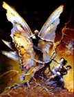 Frank Frazetta Mothman painting